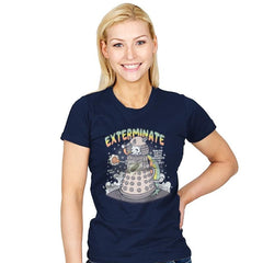 Dalek Cat - Womens - T-Shirts - RIPT Apparel