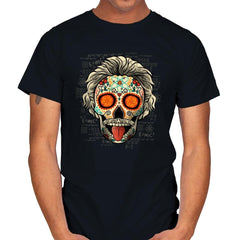Calavera Einstein - Mens - T-Shirts - RIPT Apparel