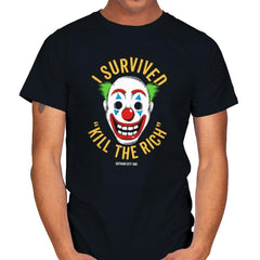 Kill The Rich Survivor - Mens - T-Shirts - RIPT Apparel