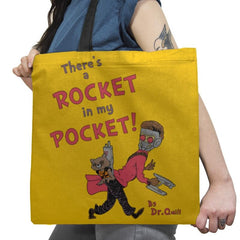 There's a Rocket in my Pocket Exclusive - Tote Bag - Tote Bag - RIPT Apparel