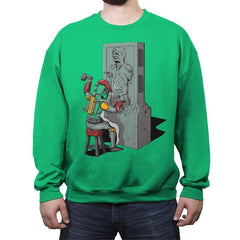 Bountiful Art  - Crew Neck Sweatshirt - Crew Neck Sweatshirt - RIPT Apparel