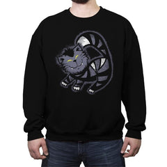 Mad Cat - Crew Neck Sweatshirt - Crew Neck Sweatshirt - RIPT Apparel
