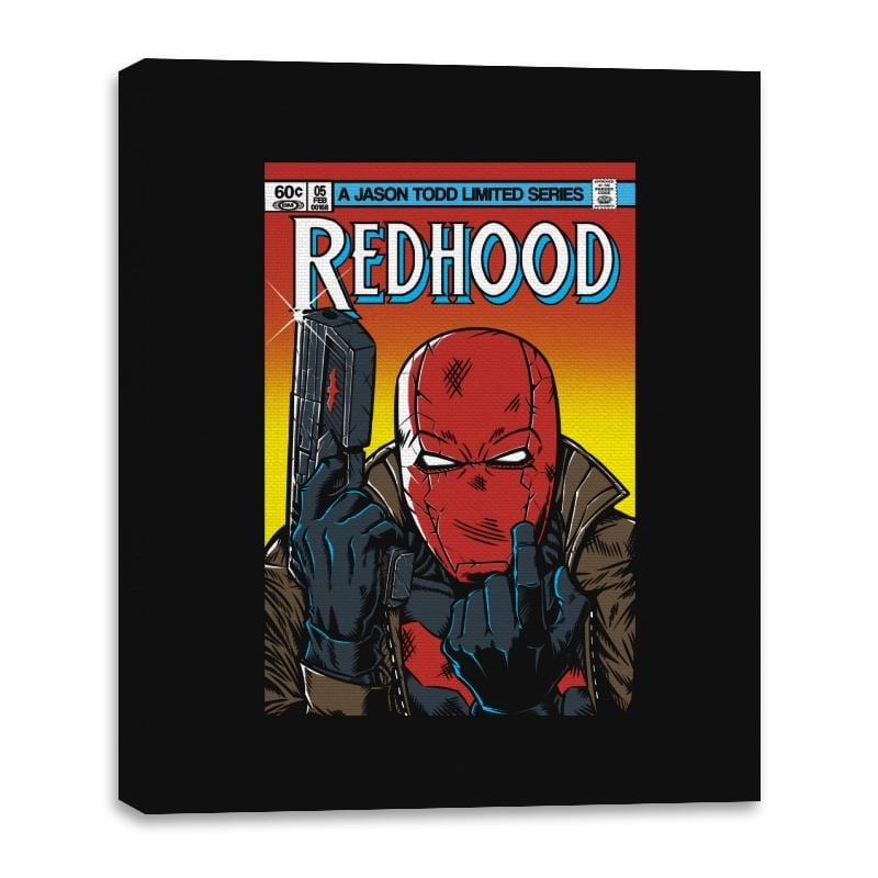 Red Hood - Canvas Wraps - Canvas Wraps - RIPT Apparel
