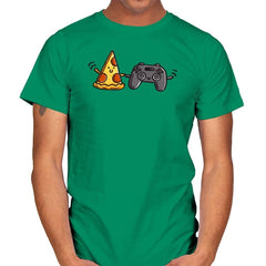 Pizza and Games - Mens - T-Shirts - RIPT Apparel
