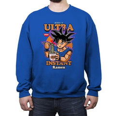 Ultra Instant Ramen  - Crew Neck Sweatshirt - Crew Neck Sweatshirt - RIPT Apparel