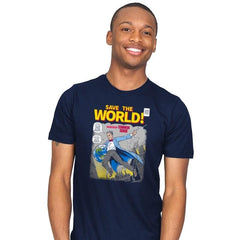Save the World! Exclusive - Mens - T-Shirts - RIPT Apparel