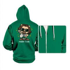 Hello Dude - Hoodies - Hoodies - RIPT Apparel