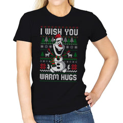 Warm Hugs! - Womens - T-Shirts - RIPT Apparel