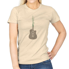 Natures Guitar Exclusive - Womens - T-Shirts - RIPT Apparel
