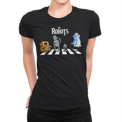 The Robots - Womens Premium - T-Shirts - RIPT Apparel