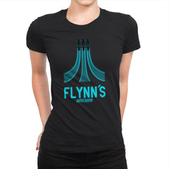 Flynn's Arcade - Best Seller - Womens Premium - T-Shirts - RIPT Apparel