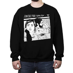 Infected Youth - Crew Neck Sweatshirt - Crew Neck Sweatshirt - RIPT Apparel