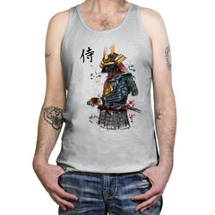 Samurai Watercolor - Tanktop - Tanktop - RIPT Apparel