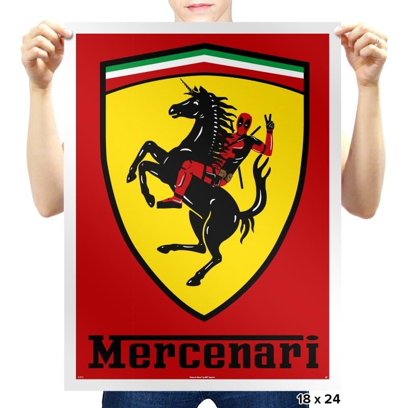 Mercenari - Prints - Posters - RIPT Apparel