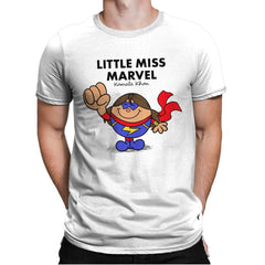 Little Miss Marvel - Mens Premium - T-Shirts - RIPT Apparel