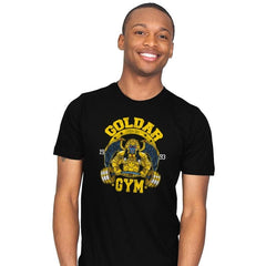 Goldar Gym - Mens - T-Shirts - RIPT Apparel