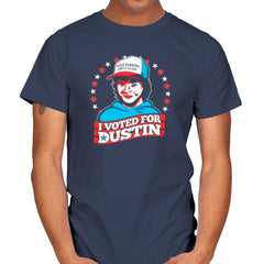 I Voted for Dustin Exclusive - Mens - T-Shirts - RIPT Apparel