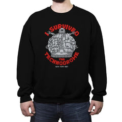 Technodrome Survivor - Crew Neck Sweatshirt - Crew Neck Sweatshirt - RIPT Apparel