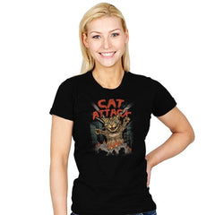 Cat Attack - Womens - T-Shirts - RIPT Apparel