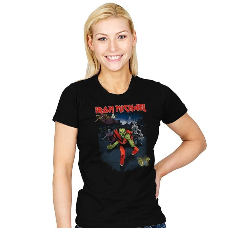 Iron Michael: The Thriller Exclusive - Womens - T-Shirts - RIPT Apparel