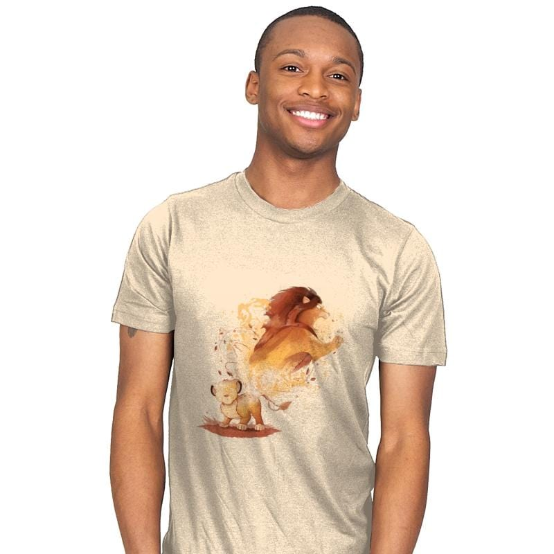 Lion Evolution - Mens - T-Shirts - RIPT Apparel