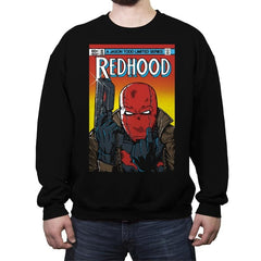 Red Hood - Crew Neck Sweatshirt - Crew Neck Sweatshirt - RIPT Apparel
