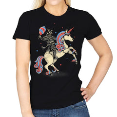 Cotton Candy Warrior - Womens - T-Shirts - RIPT Apparel