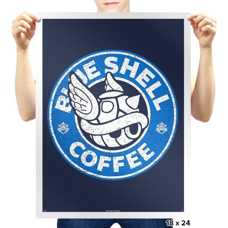Coffee Seeker - Prints - Posters - RIPT Apparel