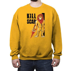 Kill Scar - Crew Neck Sweatshirt - Crew Neck Sweatshirt - RIPT Apparel
