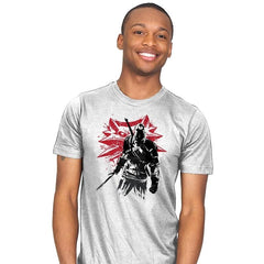 The Witcher Sumi-E - Sumi Ink Wars - Mens - T-Shirts - RIPT Apparel