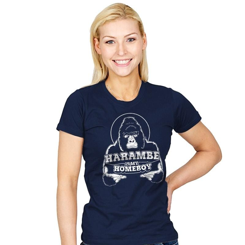 Harambe is my Homeboy - Womens - T-Shirts - RIPT Apparel