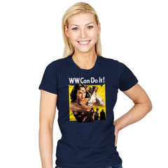 WW Can Do It! - Womens - T-Shirts - RIPT Apparel