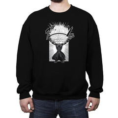Sith-dama - Crew Neck Sweatshirt - Crew Neck Sweatshirt - RIPT Apparel