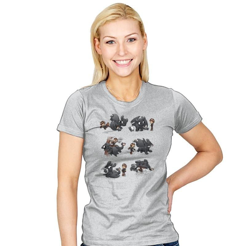 How Not To Train - Miniature Mayhem - Womens - T-Shirts - RIPT Apparel