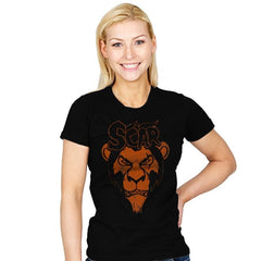 Misfit Lion - Womens - T-Shirts - RIPT Apparel