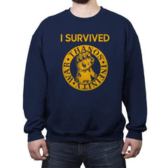 Infinity Survivor - Crew Neck Sweatshirt - Crew Neck Sweatshirt - RIPT Apparel