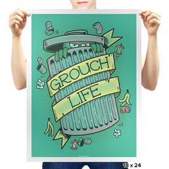 Grouch Life - Prints - Posters - RIPT Apparel