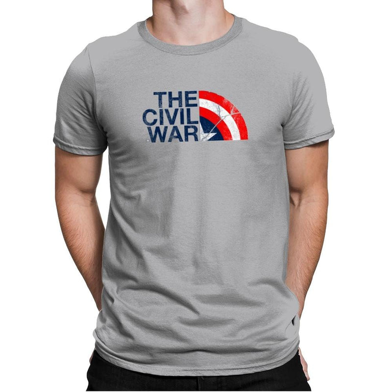 The Civil War Exclusive - Mens Premium - T-Shirts - RIPT Apparel