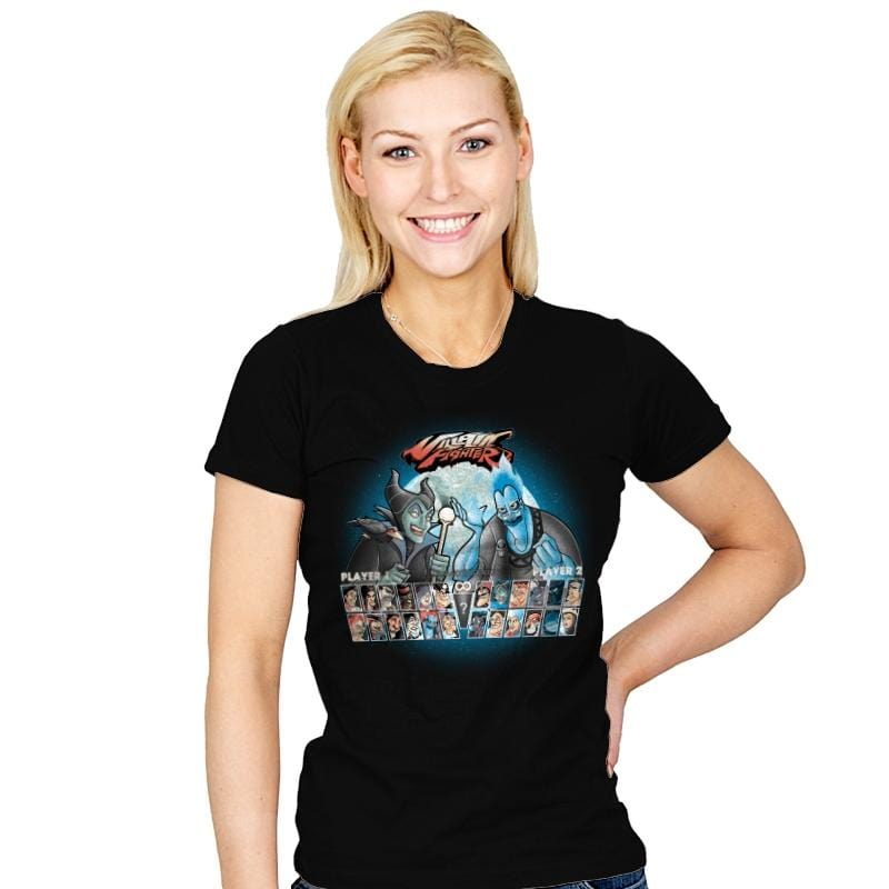Villain Fighter - Womens - T-Shirts - RIPT Apparel