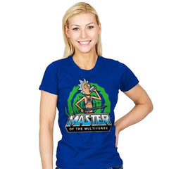 Master of the Multiverse - Womens - T-Shirts - RIPT Apparel