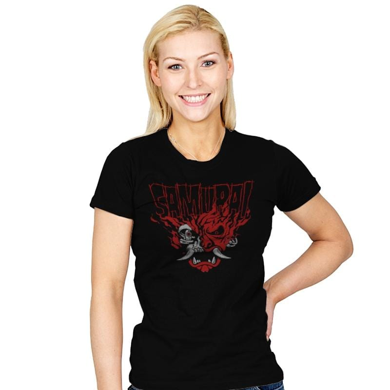 Cyber Samurai - Womens - T-Shirts - RIPT Apparel