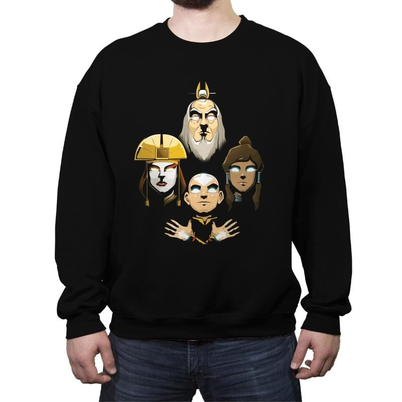 Elemental Rhapsody - Crew Neck Sweatshirt - Crew Neck Sweatshirt - RIPT Apparel