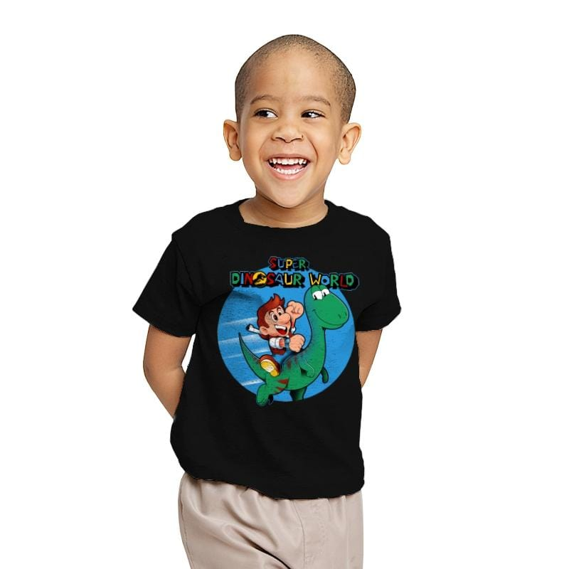 Super Dinosaur World - Youth - T-Shirts - RIPT Apparel