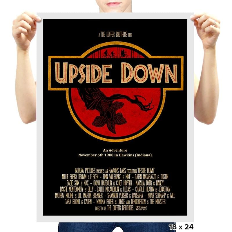 Upside Down - RIPTcademy2017 - Prints - Posters - RIPT Apparel