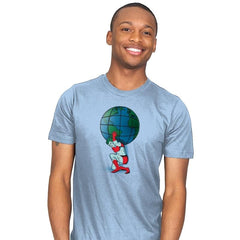 Saving the Planet - Mens - T-Shirts - RIPT Apparel