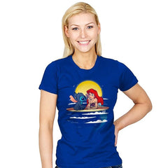 Aloha Mermaid - Best Seller - Womens - T-Shirts - RIPT Apparel