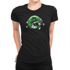 Hulk's Gym Exclusive - Womens Premium - T-Shirts - RIPT Apparel