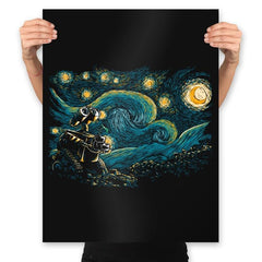 Starry Robot - Prints - Posters - RIPT Apparel