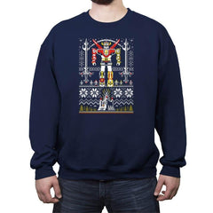 Yuletron - Crew Neck Sweatshirt - Crew Neck Sweatshirt - RIPT Apparel