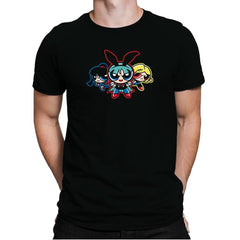 Dragonpuff Girls - Kamehameha Tees - Mens Premium - T-Shirts - RIPT Apparel